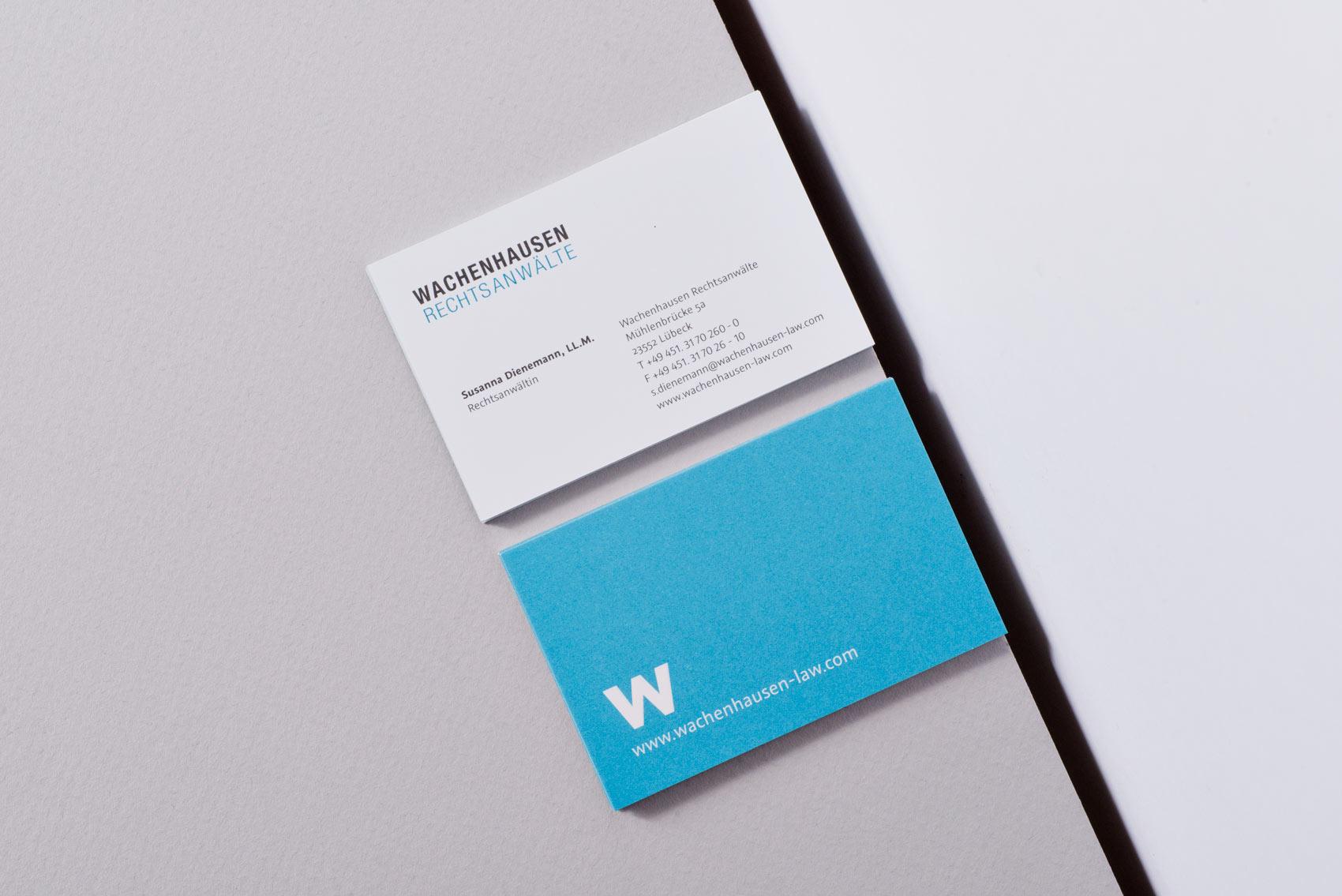 Geschäftsausstattung Wachenhausen Venturier Design